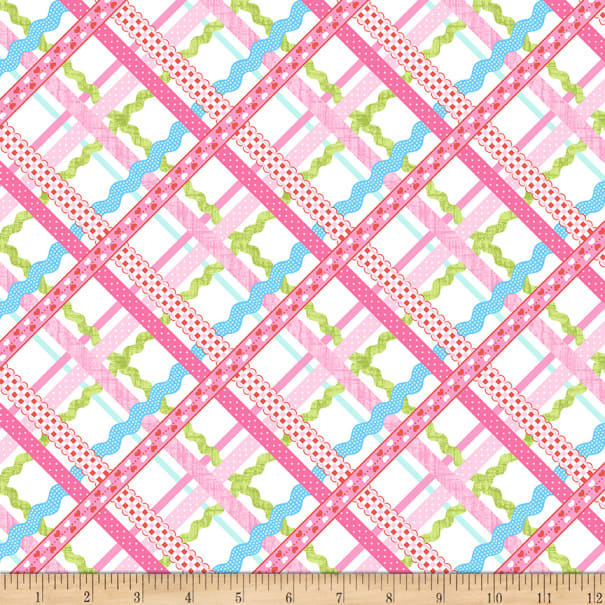Sew Kind - Rick-Rack Plaid Pink | 5226-22