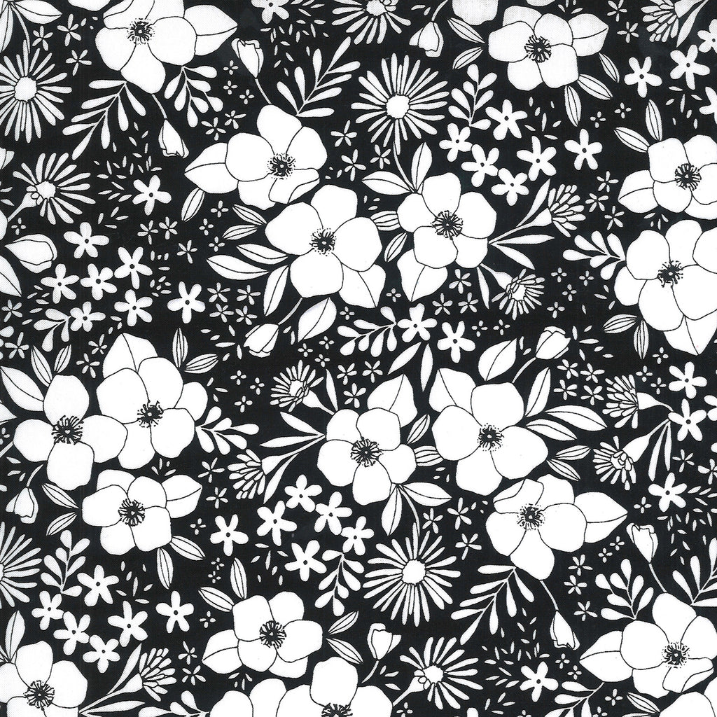 Illustrations - Medium Floral Ink | 11503-15