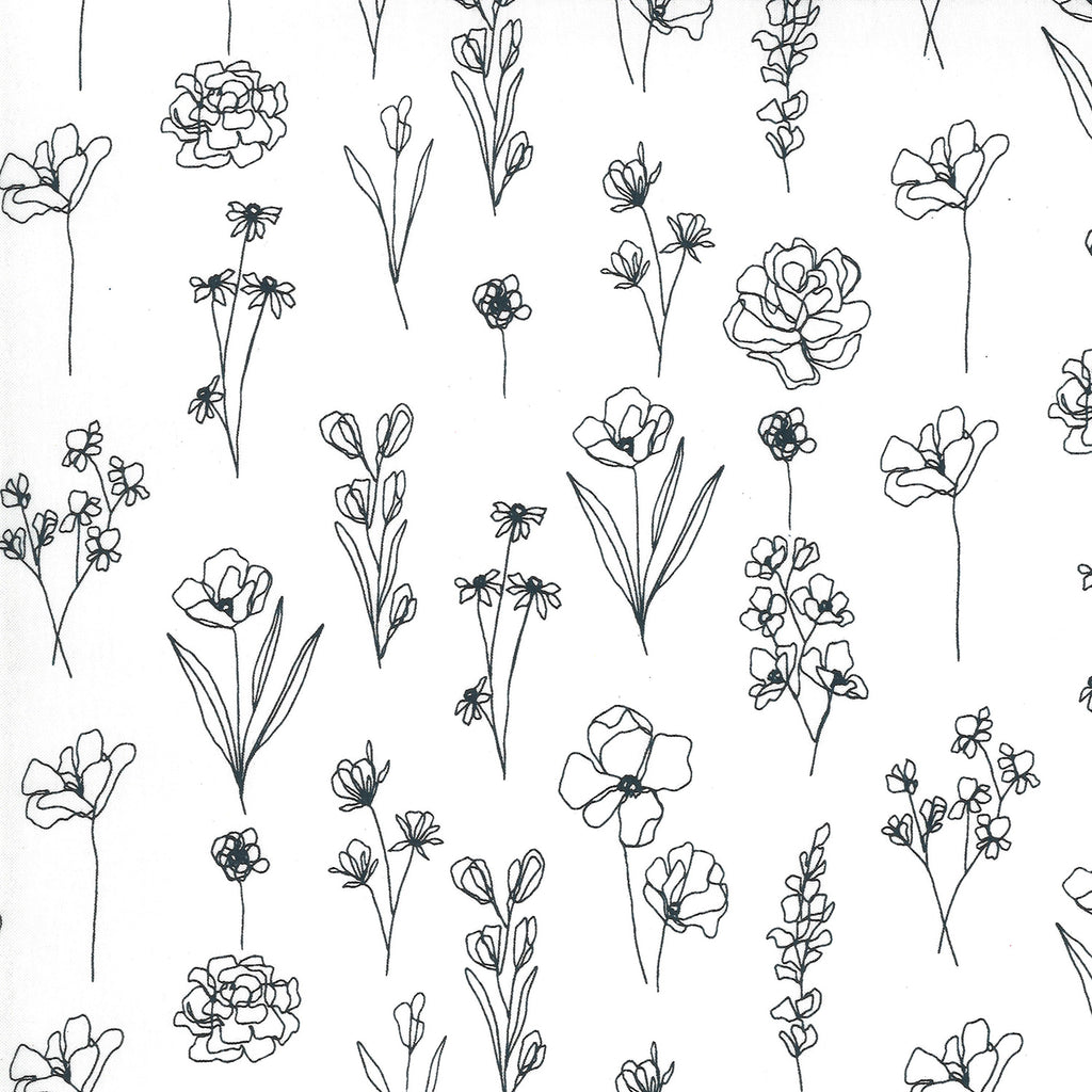 Illustrations - Sketchy Floral Paper | 11505-11