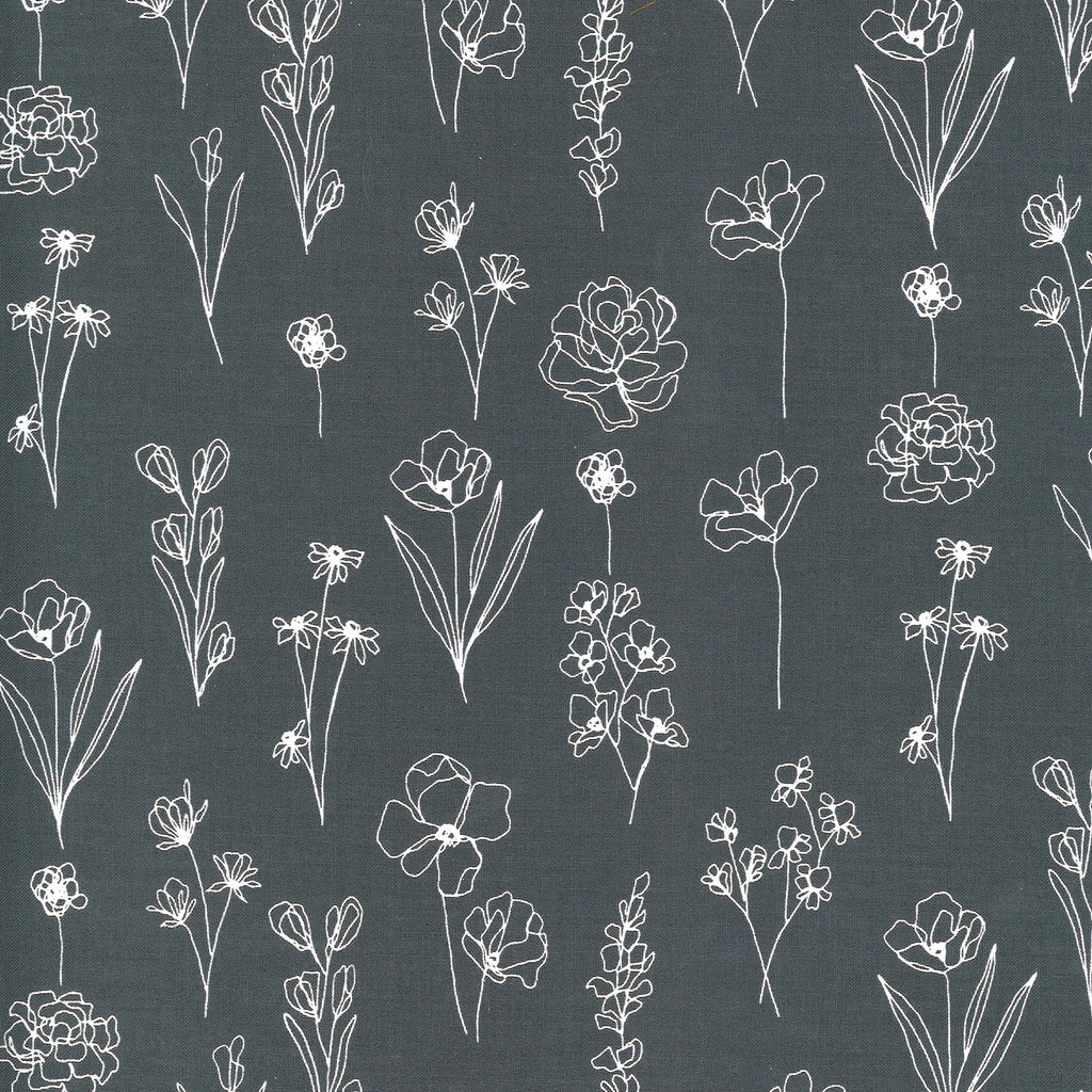 Illustrations - Sketchy Floral Graphite | 11505-24
