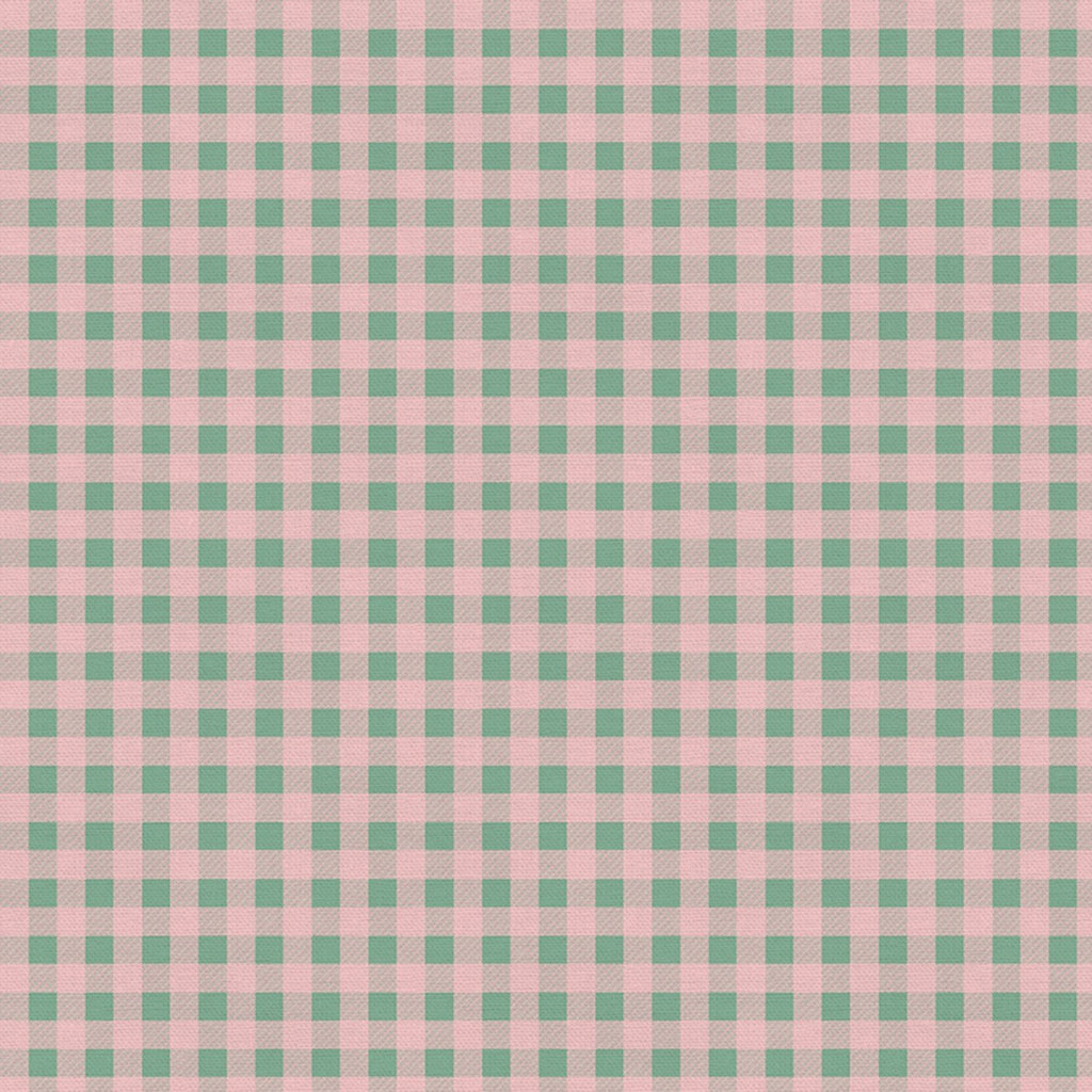 Home For Christmas - Plaid Pink/Green | 120-21844