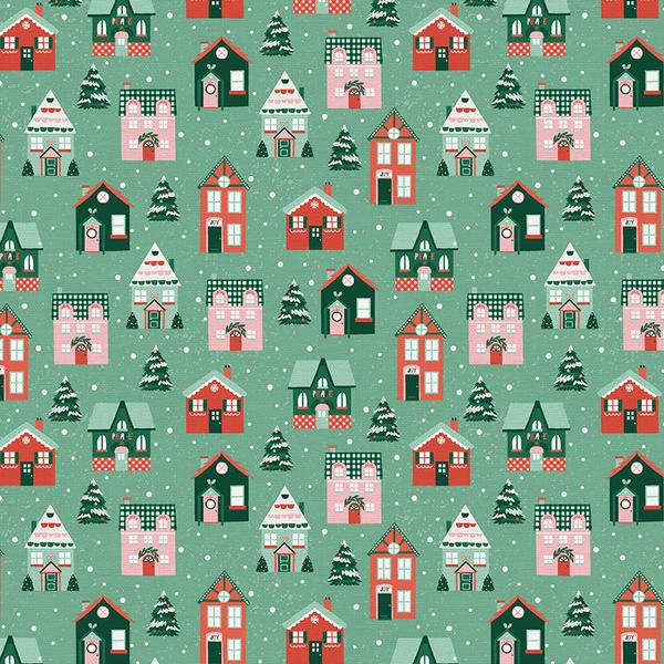 Home For Christmas - House Green | 120-21839