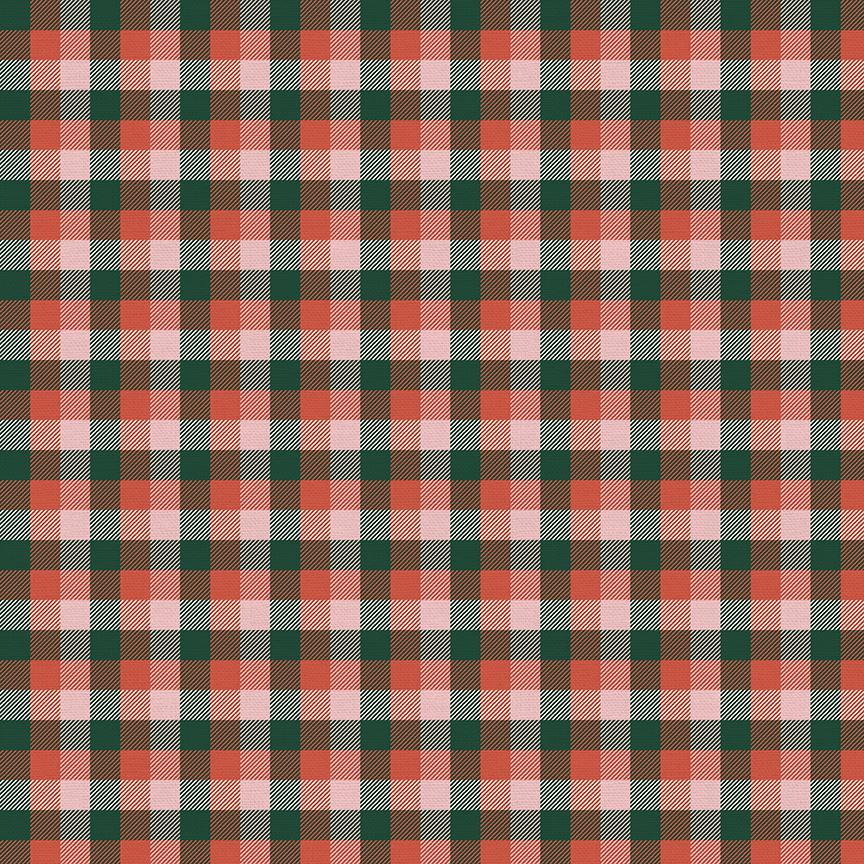 Home For Christmas - Plaid Green/Red | 120-21843
