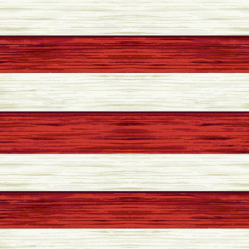 America the Beautiful - Stripes Red/Off white | 1466-18