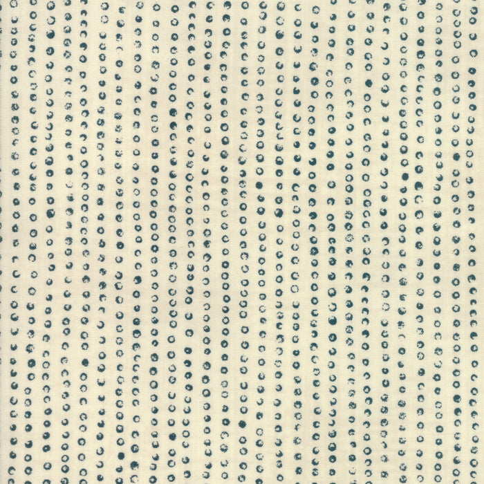 Origami - Indigo Spots on Cream | 1474-12