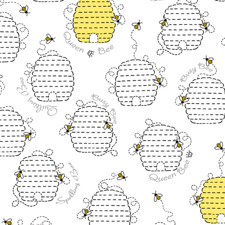 All The Buzz - Beehives White | 1649-27609-Z