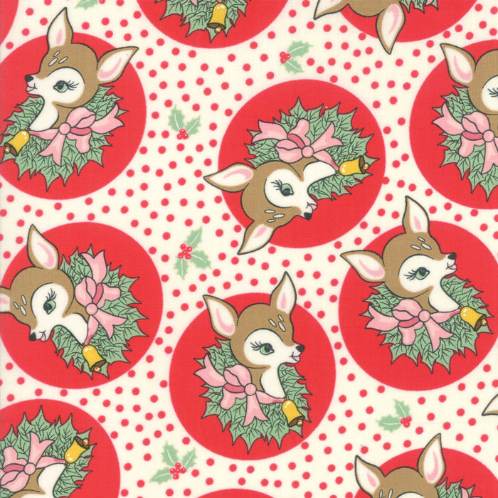 Deer Christmas - Polka Dot Deer Peppermint | 31161-11