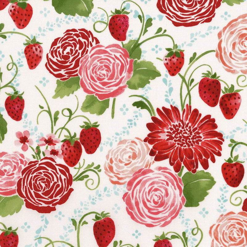 Sugar Berry - Strawberry Rose Field Metallic | 3370-001