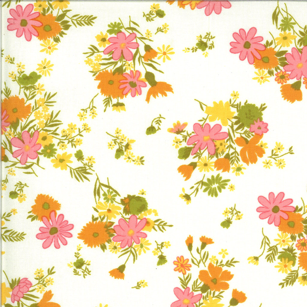 A Blooming Bunch - Cloud Groovy Floral | 40042-11
