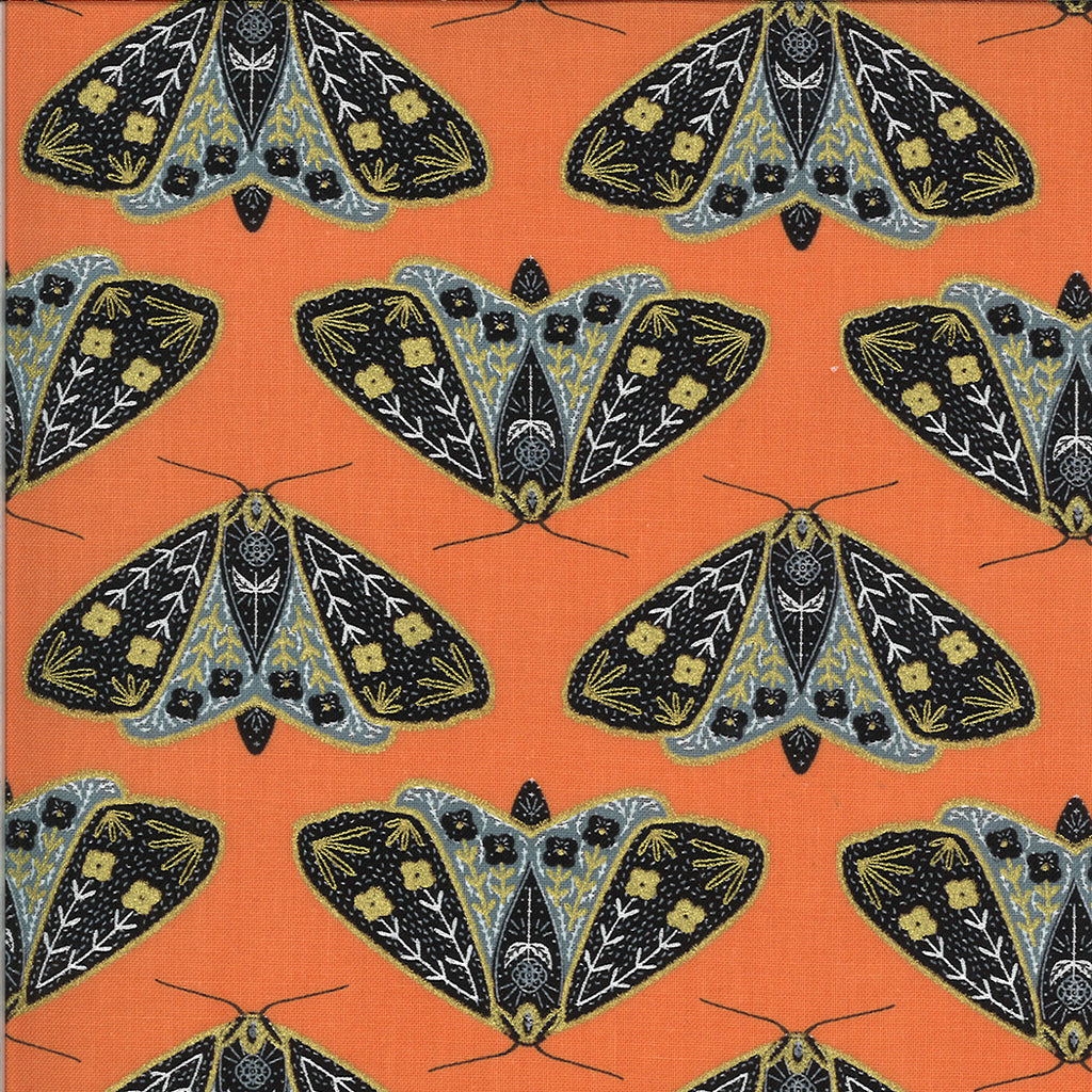 Dwell In Possibility - Moths Poppy Metallic | 48311-11M