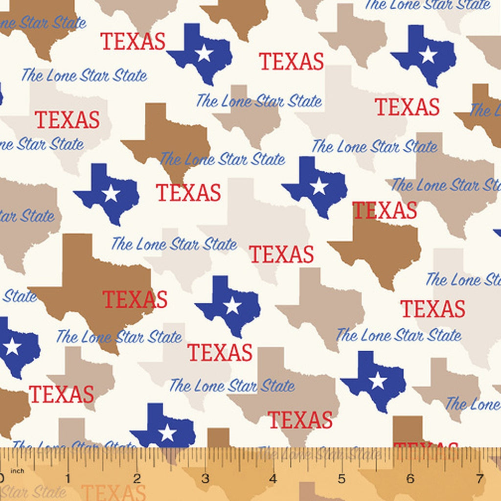 State Pride - Texas on Cream | 52327D-TX
