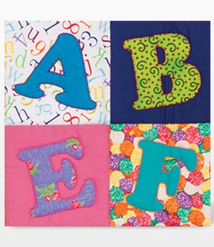GO! Carefree Alphabet Uppercase Set (2-Die Set)