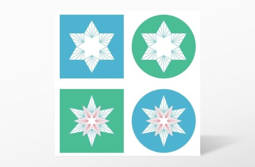 GO! Sparkle-Snowflakes by Sarah Vedeler Die