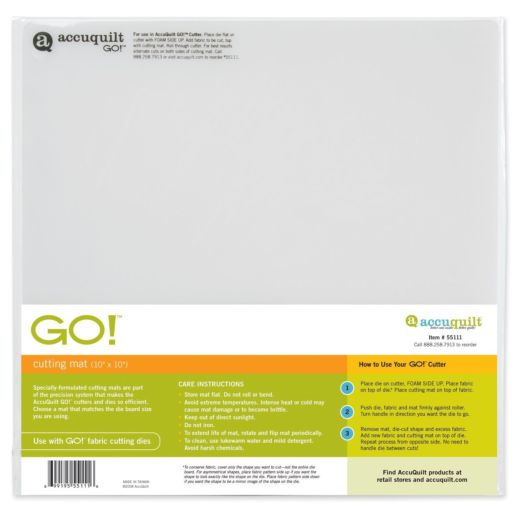 "GO! Cutting Mat - 10"" x 10"""