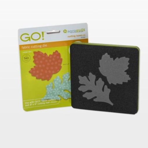 GO! Rustling Leaves #4- Maple and Oak (Small) Die