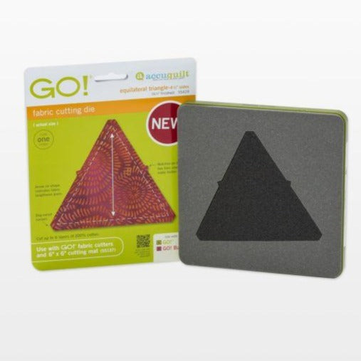 "GO! Equilateral Triangle-4 1/2"" Sides (4 1/4"" Finished) Die"