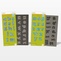GO! Carefree Alphabet Lowercase Set (2-Die Set)