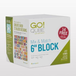 "GO! Qube Mix & Match 6"" Block"