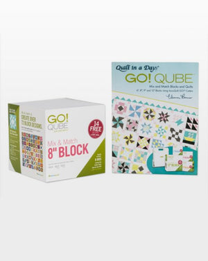 "GO! Qube Mix & Match 8"" Block"