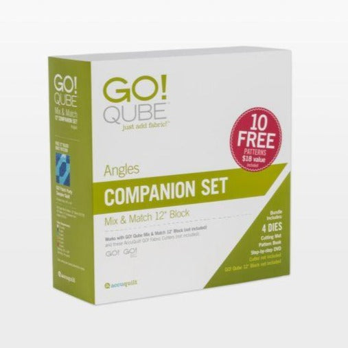 "GO! Qube 12"" Companion Set-Angles"
