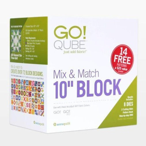 "GO! Qube Mix & Match 10"" Block"