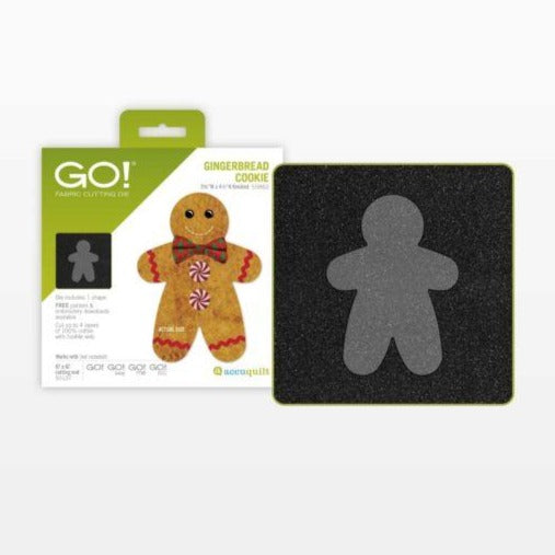 GO! Gingerbread Cookie Die