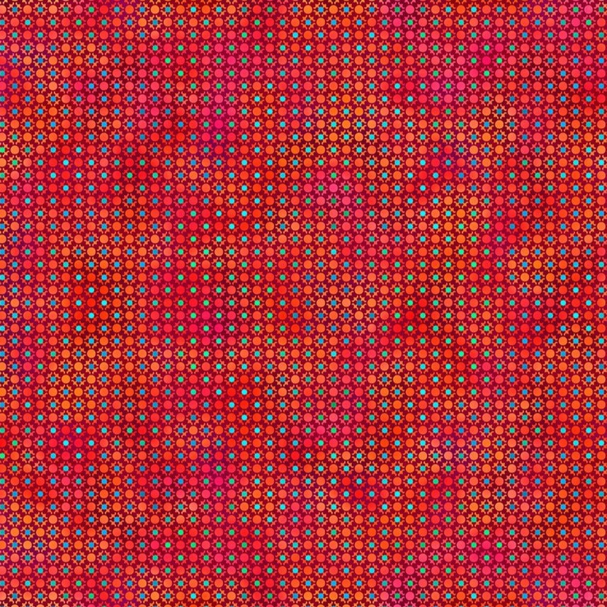 Unusual Garden II - Dots Red | 5UGB-1
