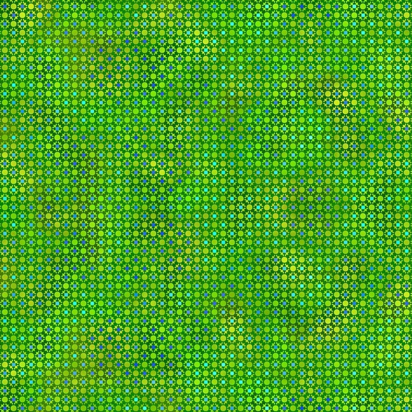 Unusual Garden II - Dots Green | 5UGB-4