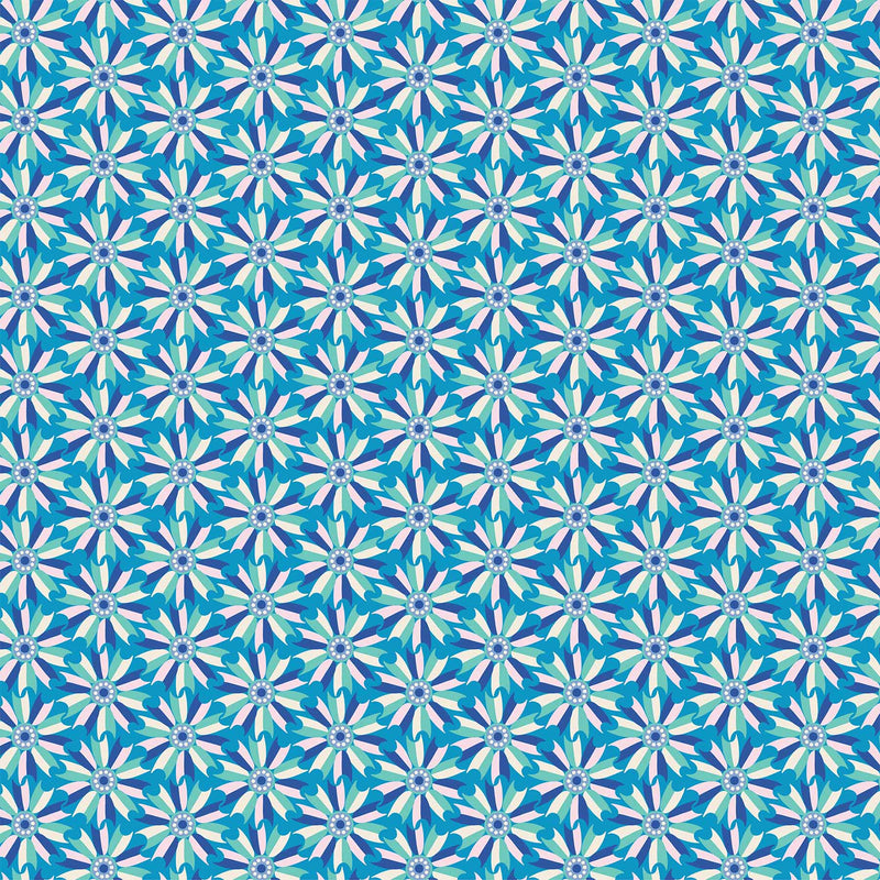 Midsommar - Windmill Flower Blue | 90131-40