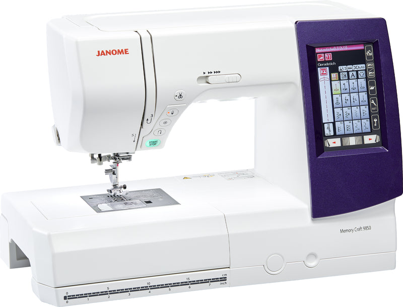 Janome Memory Craft 9850 | Sewing & Embroidery Machine