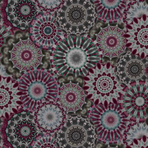Radiance - Kaleidoscope Purple/Charcoal 108"