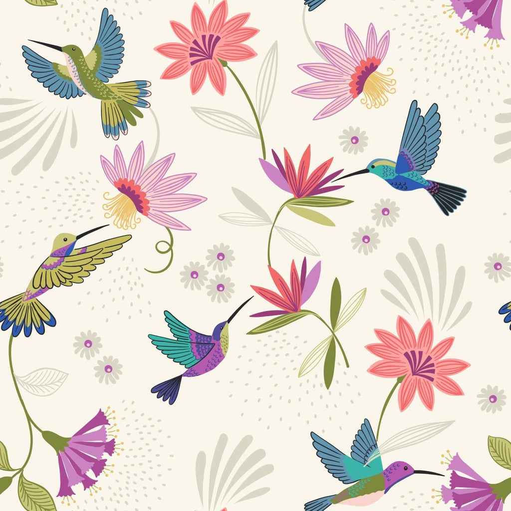 Hummingbird - Hummingbirds Cream  | A429.1