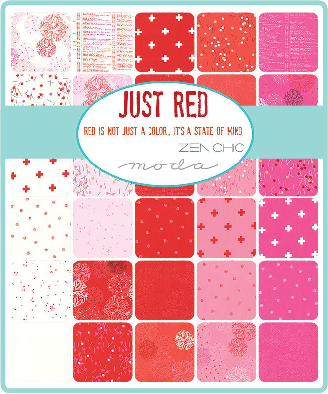 Just Red - White Spheres | 1700-11