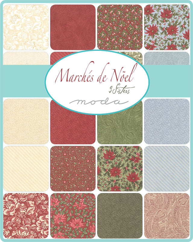 Marches de Noel - Layer Cake | 44230LC