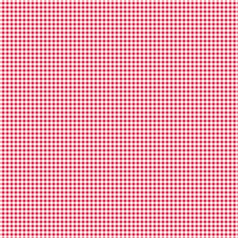 Warp & Weft Holiday Premium - Mini Gingham Peppermint | 2454Y-10