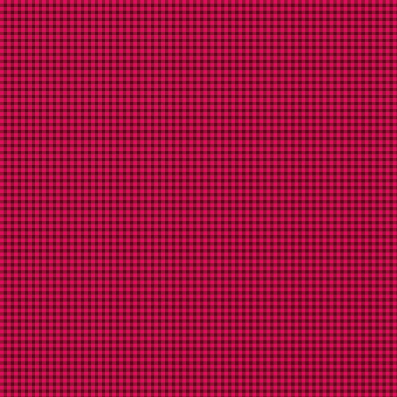Warp & Weft Holiday Premium - Mini Gingham Cranberry | 2454Y-86
