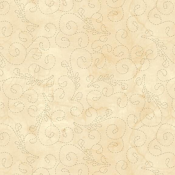 Urban Legend - Meandering Stitch Ivory 108"