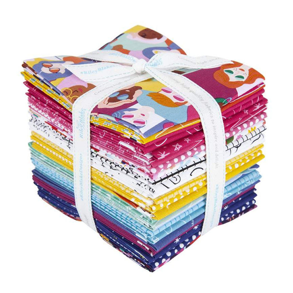 Grl Pwr - Fat Quarter Bundle | FQ-10650-24