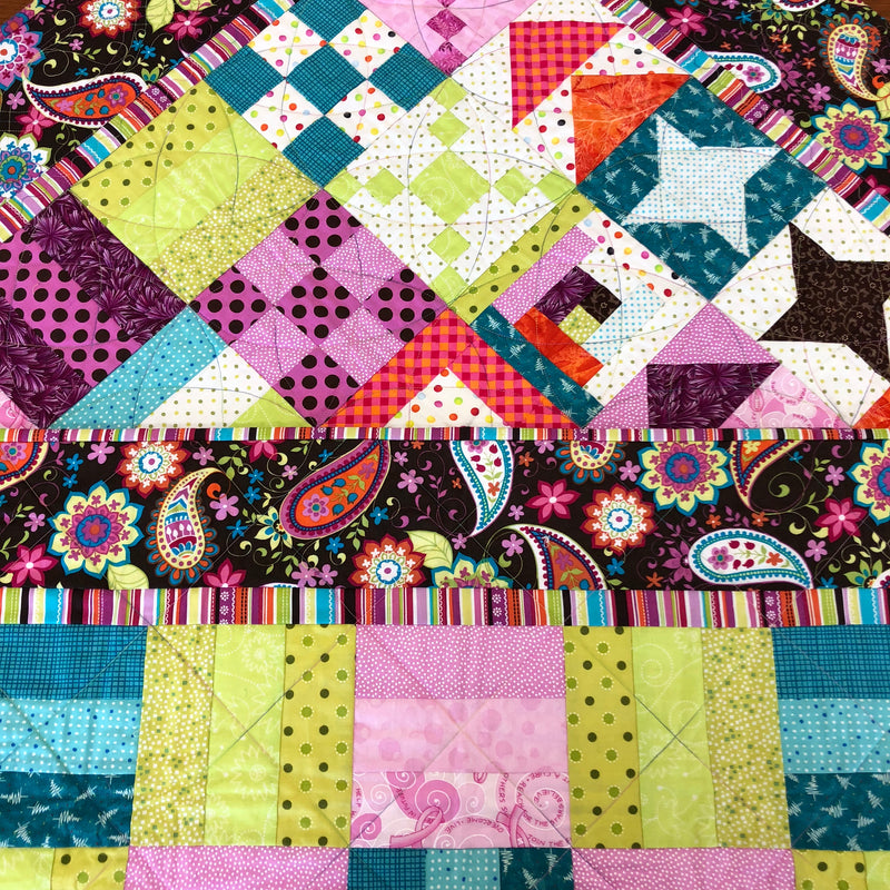 Quilt Your Quilt - Without Free Motion