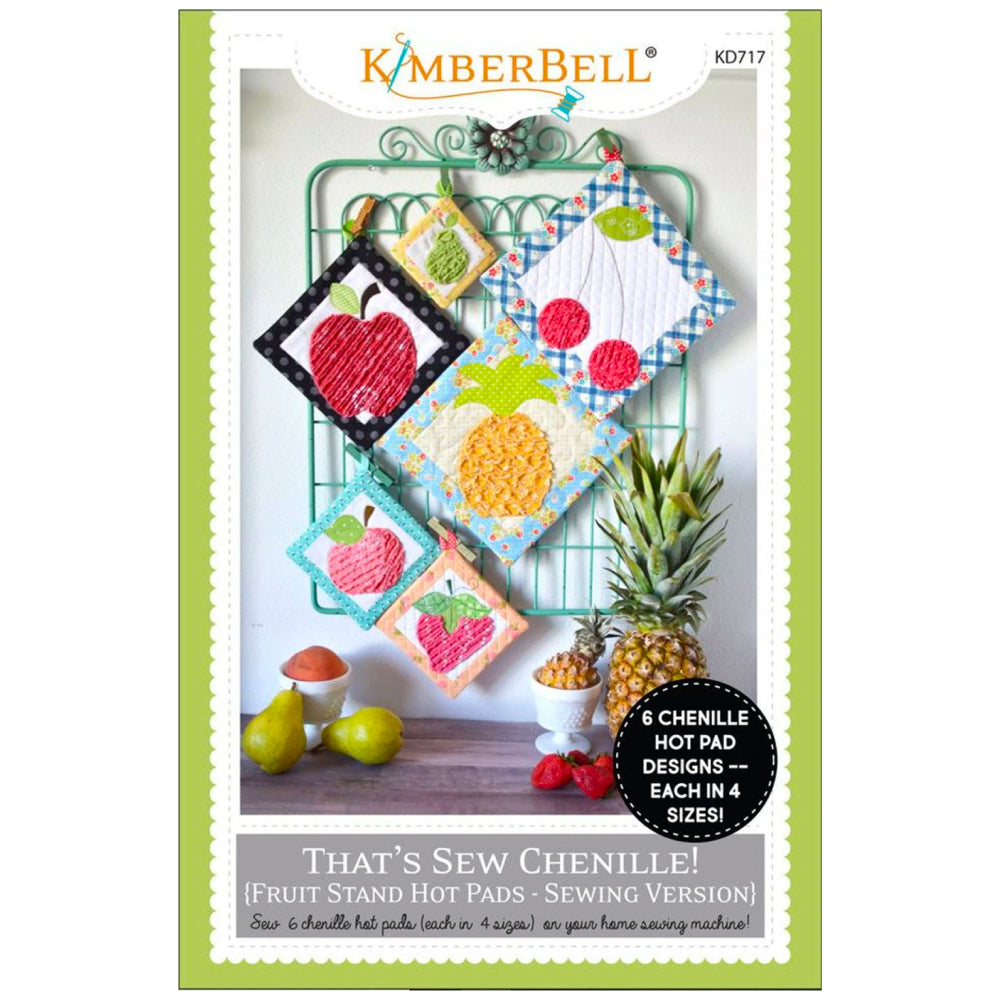Kimberbell Designs | Fruit Stand Hot Pads - Sewing Version