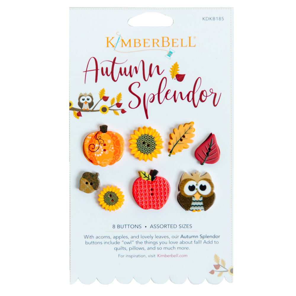 Kimberbell Designs | Autumn Splendor Buttons