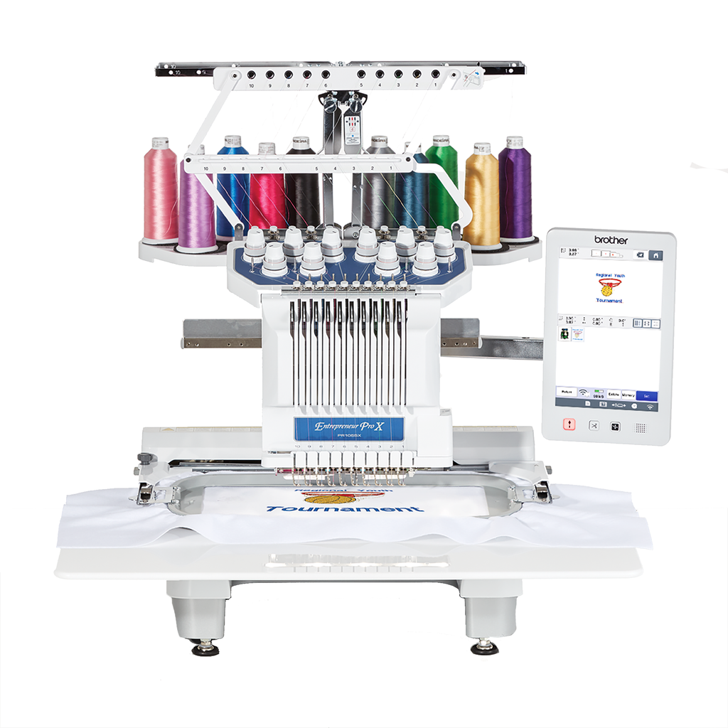 Brother Entrepreneur Pro X PR1055X | Multi-Needle Embroidery