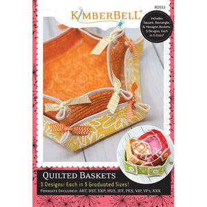 Kimberbell Designs | Quilted Baskets - Machine Embroidery