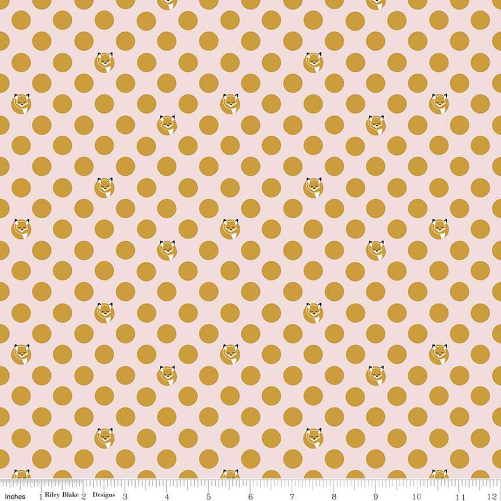 Fox Farm - Dots Pink Sparkle Metallic | SC8265-PINK