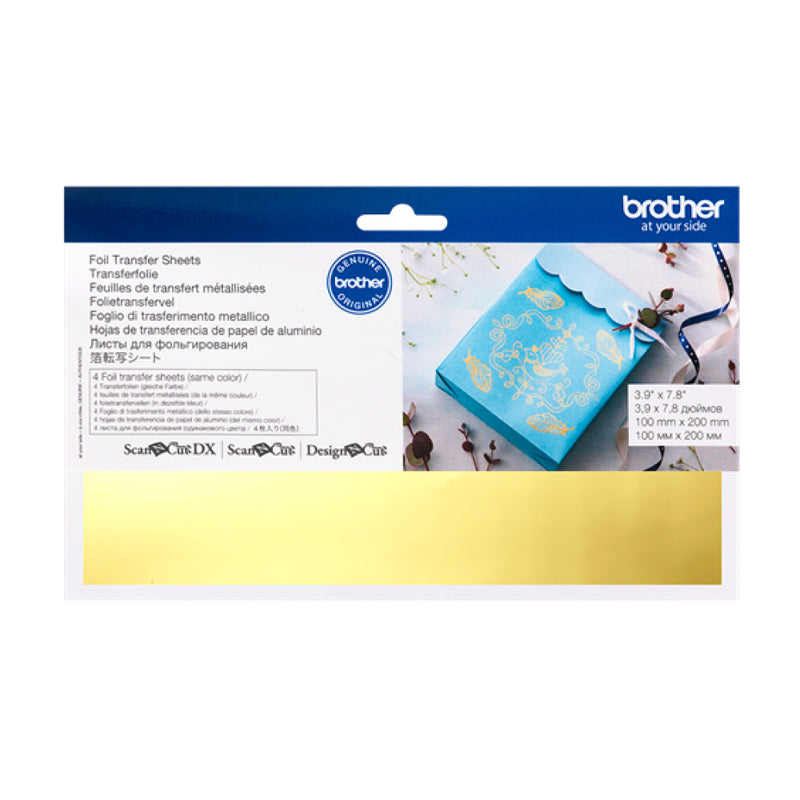 Brother ScanNCut | Foil Transfer Sheets - Gold