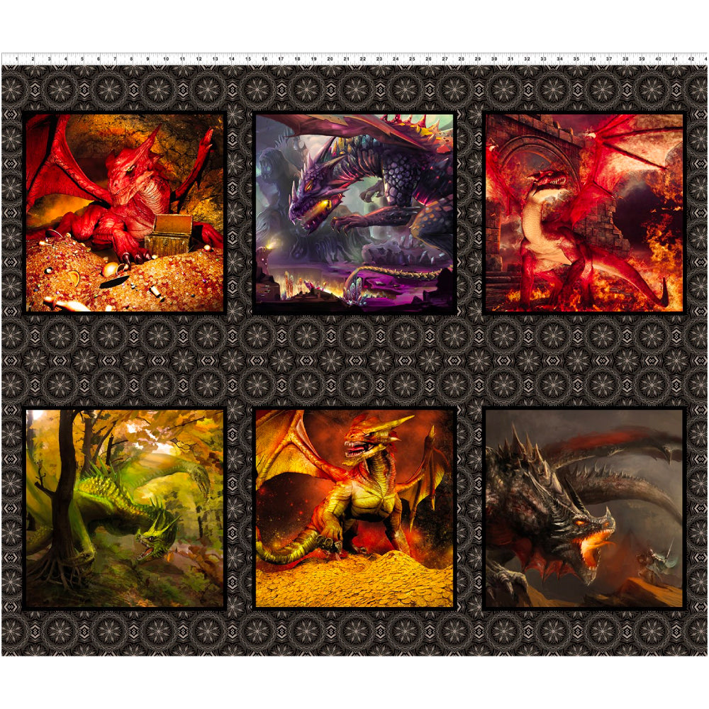 Dragons - Small Dragon Panel Multi | 2DRG-1