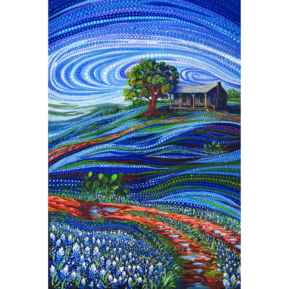 Dreamscapes - Home Place Bluebonnets Panel | 51240-11D