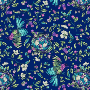 Stag and Thistle - Songstress Navy Multi | 23305-88
