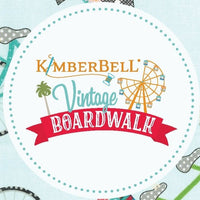 Kimberbell Vintage Boardwalk - Boardwalk Graffiti Ultra White | MAS9710-UW