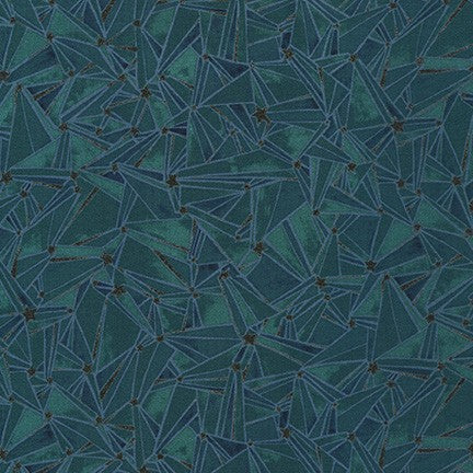 Moonlight - Teal Stars w/ Metallic | WELM20065213